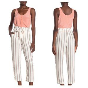 Joie Cavell Striped Wide Leg Pants Sz S NWT